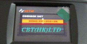 Видеорегистратор Samoon DV5E5 (GS1000) с синим меню