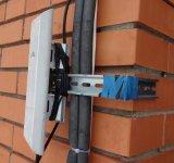 Передаем Интернет с NanoStation M5 на 1,2 км без прямой видимости